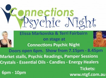 Psychic night advert